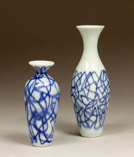 Cobalt on Porcelain
